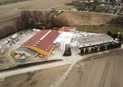 Industriegebäude Credin Sobótka